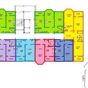 2-к квартира, 66 м², 16/17 эт.